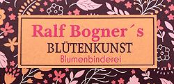 Ralf Bogner's Blütenkunst