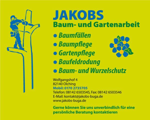 Jakobs Baum- und Gartenarbeit